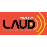 Logo of radio station LAUD 90.4 FM