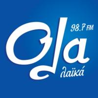 Logo of radio station OLA 98.7 - Όλα 98.7