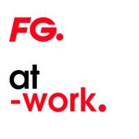 Logo of radio station FG AT WORK