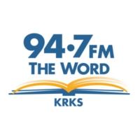 Logo of radio station KRKS 94.7