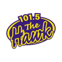 Logo of radio station CIGO-FM The Hawk 101.5