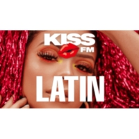 Logo of radio station KISS FM - LATIN