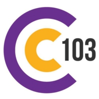 Logo of radio station C103 West