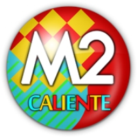 Logo of radio station M2 CALIENTE