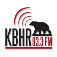 Logo of radio station KBHR Radio 93.3 & 102.5