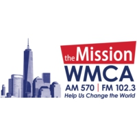 Logo of radio station WMCA 570 AM