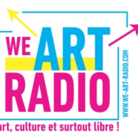 Logo of radio station WE ART RADIO