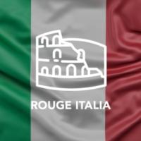 Logo of radio station Rouge Italia
