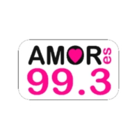 Logo of radio station Amor es 99.3 FM