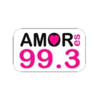 Logo of radio station Amor es 99.3 FM