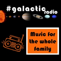 Logo of radio station #galactic radio