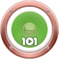 Logo of radio station 101.ru - Italia
