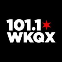 Logo of radio station 101 WKQX
