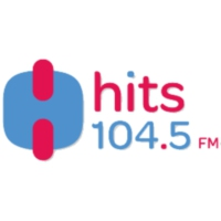 Logo de la radio XHCHA Hits Fm 104.5