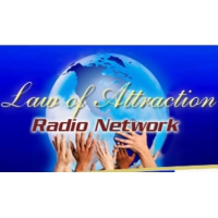 Logo of radio station Law of Attraction Radio Network