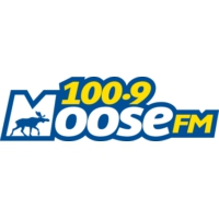 Logo of radio station CKAP-FM Moose 100.9
