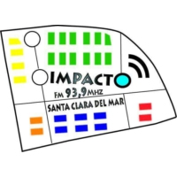 Logo of radio station fm impacto 93.9