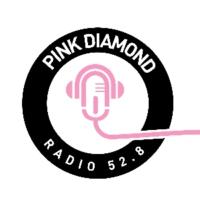 """Logo de la radio Pink Diamond Radio 52.8 """"THE VIBE"""""""