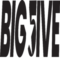 Logo of radio station BIG FIVE