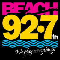 Logo of radio station WHBQ Beach 92.7