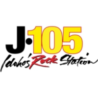 Logo of radio station KJOT J-105