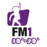 Logo of radio station FM1 80's & 90's