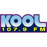 Logo of radio station KBKL 107.9 FM