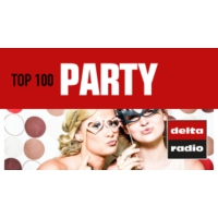 Logo of radio station delta radio - TOP 100 PARTY