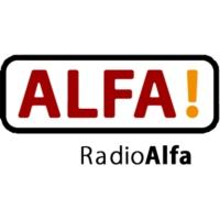 Logo of radio station Radio Alfa - Østjylland