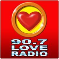 Logo of radio station 90.7 Love Radio