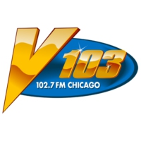 Logo of radio station WVAZ V103