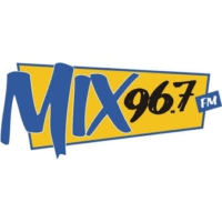Logo of radio station CJPG-FM Mix 96.5 FM