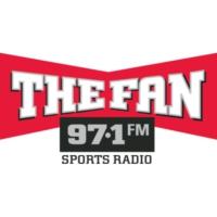Logo of radio station The Fan 97.1 WBNS-FM