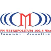 Logo of radio station FM Metropolitana 100.5