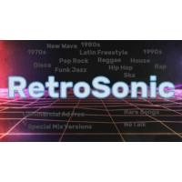 Logo of radio station RetroSonic Grooves