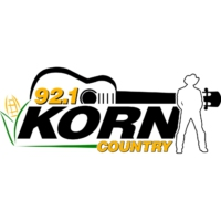 Logo of radio station KORN Country 92.1