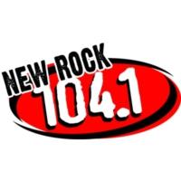 Logo de la radio KFRR New Rock 104.1