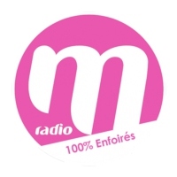 Logo of radio station M Radio 100% Enfoirés