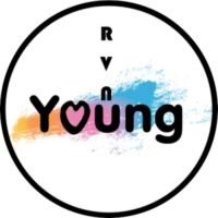 Logo of radio station RVN Young