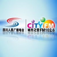 Logo of radio station 四川城市之音 - Voice of Sichuan cities