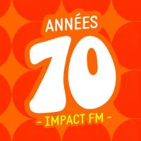 Logo of radio station Impact FM - Années 70