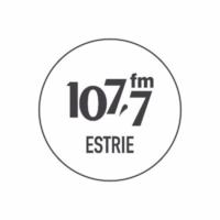 Logo of radio station 107.7 FM Estrie