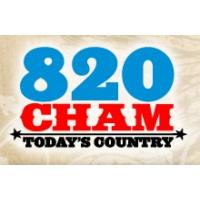Logo of radio station 820 CHAM
