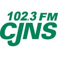Logo of radio station 102.3 FM CJNS