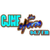 Logo of radio station The Storm 94.7