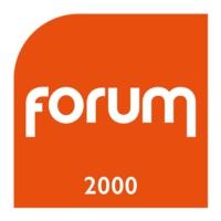 Logo de la radio Forum 2000
