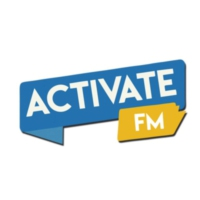 Logo of radio station Activate FM