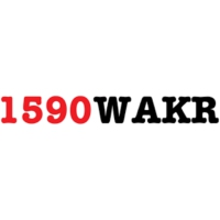 Logo of radio station WAKR 1590