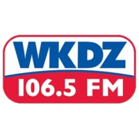 Logo of radio station WKDZ-FM 106.5 FM