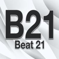 Logo of radio station Beat 21